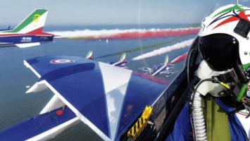 Come diventare pilota Frecce Tricolori