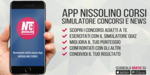 App Nissolino Corsi: simulatore e news sui concorsi militari
