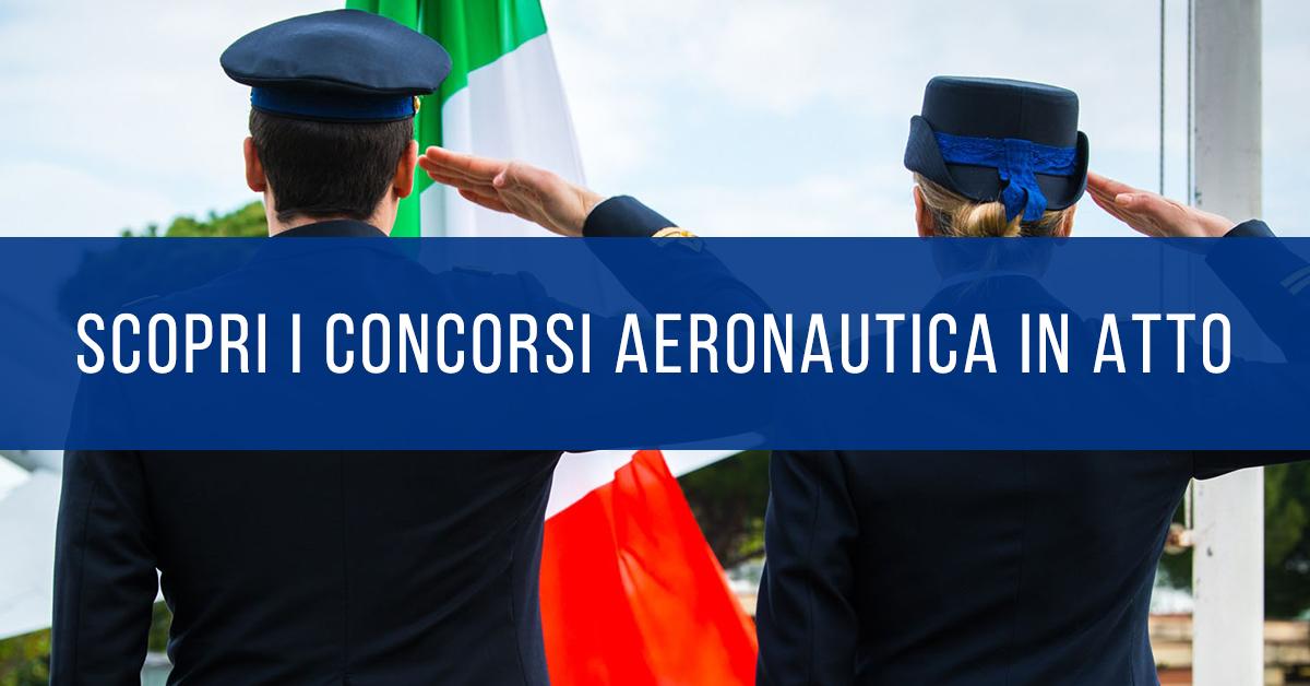 Concorsi Aeronautica in Atto