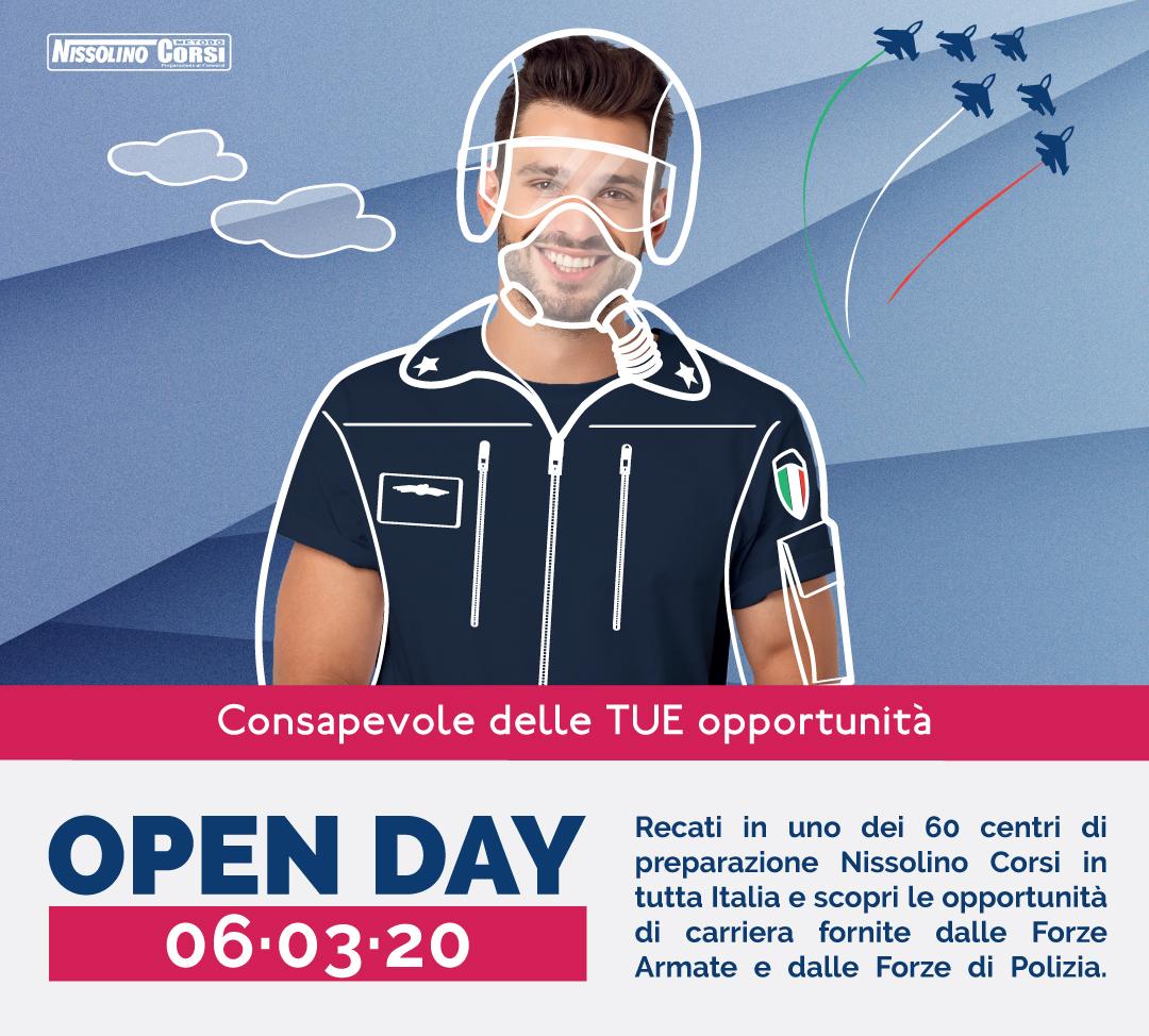 Open Day Nissolino Corsi 2020